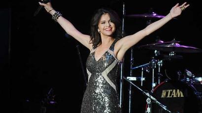 Selena Gomez a Musikfesten