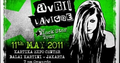 Elkezdődött Avril Lavigne turnéja