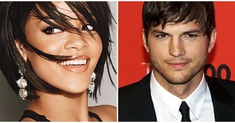Ashton Kutcher és Rihanna randizgat