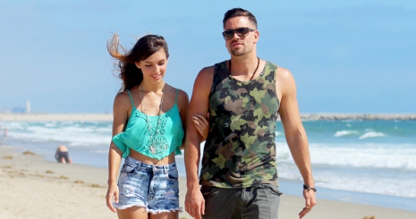 Disney-csillaggal randizik Mark Salling