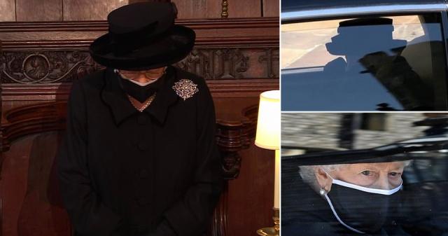 II. Erzsébet királynő könnyekkel a szemében érkezett meg Fülöp herceg  temetésére - Starity.hu
