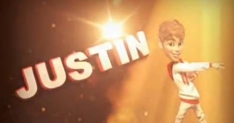 Justin Bieber animációs figurává változott