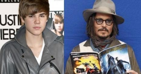 Justin Bieber megzavarta Depp konferenciáját