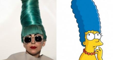 Lady Gaga a Simpson családban
