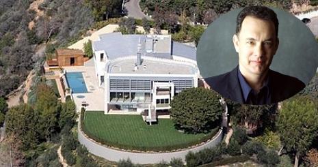 Lessünk be Tom Hanks eladó otthonába!