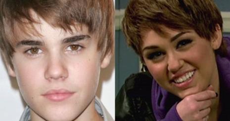 Miley Cyrus könnyen játszotta Justin Biebert