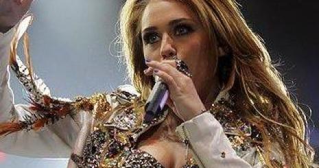 Miley Cyrus turnéja befejeződött