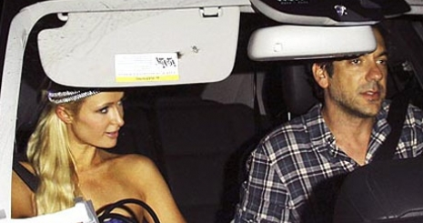 Paris Hilton bepasizott