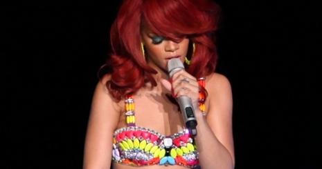 Rihanna megint villantott!