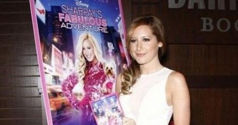 Sharpay már DVD-n kalandozik