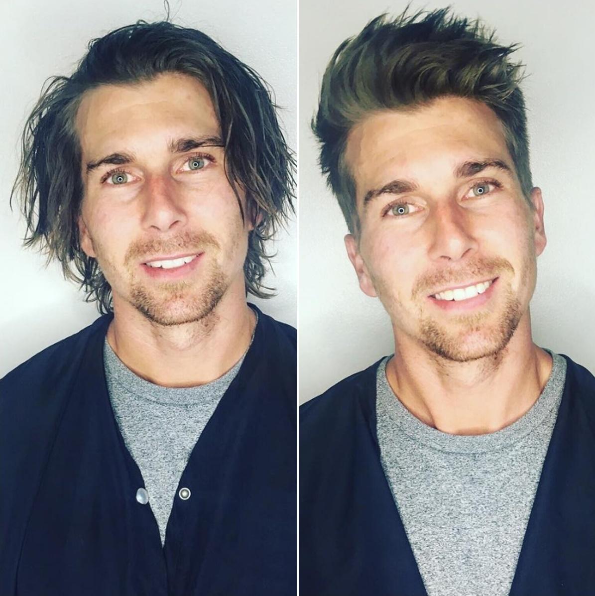 kislemez férfiak a hosszú haj