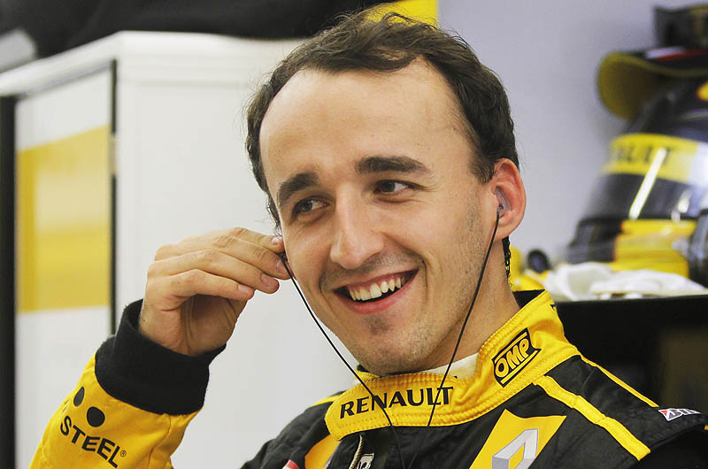 The 32-year old son of father Artur Kubica and mother Anne Kubica, 184 cm tall Robert Kubica in 2017 photo