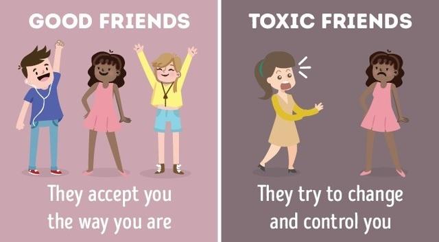 barátság ismerős különbség)