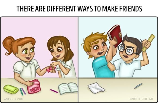 A különbség egy fiú és egy férfi között