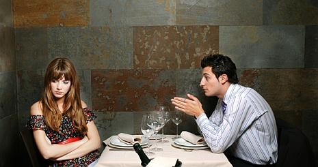 Adva az embernek helyet randi közben