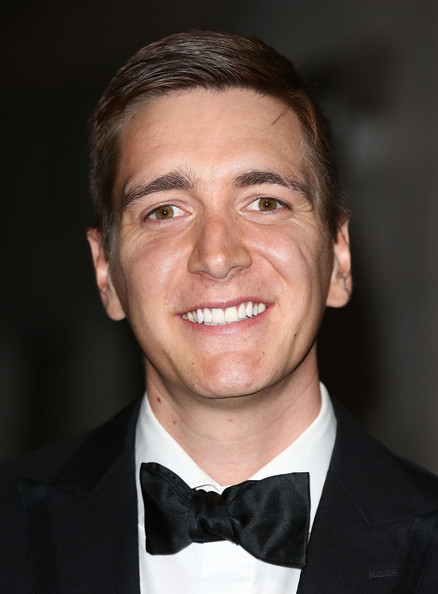 Oliver Phelps - 2017 Red hair & alternative hair style. Current length:  short hair